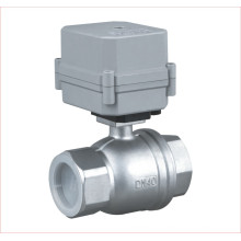 2 Way Electric Actuator Valve Motorized Stainless Steel Water Ball Valve (A100-T40-S2-C)