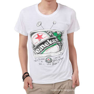 Top Hotsale Fashion Printing Custom 100% Cotton Men T Shirt