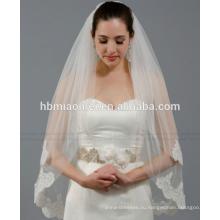 Новые существенные невесты фата свадебные аксессуары невесты кружева фата долго