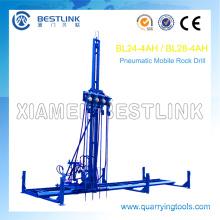 Mobilen Rock Drill horizontale Linie Bohrmaschine zum Bohren
