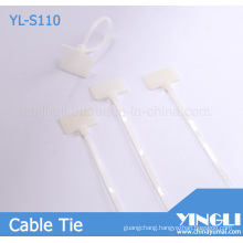 Security Cable Tags with Serial Number