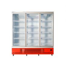 exhibición comercial del equipo del refrigerador para la bebida