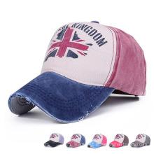 Moda impressa chapéu de esportes de beisebol de sarja de algodão (yky3015)
