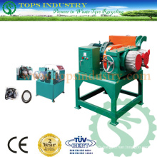 Déchets / Scrap Tire Bead Wire Ring Separator / Debeader / Waste Tire Debeader / Used Tire Recycling Production Line