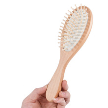 FQ marca profissional personalizado OEM logotipo escova de cabelo de madeira
