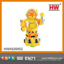 2015 Robot de combate plástico divertido B / O de la venta caliente para los cabritos