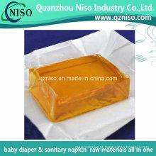 Adesivo de fundição a quente de alta qualidade para matérias-primas para fraldas para adultos