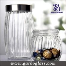 Bouteille en verre à haute pression et conteneur de nourriture Olivary (GB2102H-1)