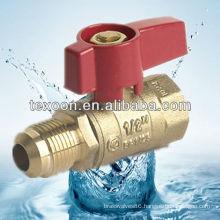 forged copper gas ball valve(female thread*flare) CSA UL