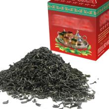 Free sample China green tea different grades chunmee 41022 4011 azawad Flecha Algeria tea morocco