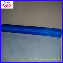 Pantalla de ventana de malla de fibra de vidrio de color azul (TYD-014)