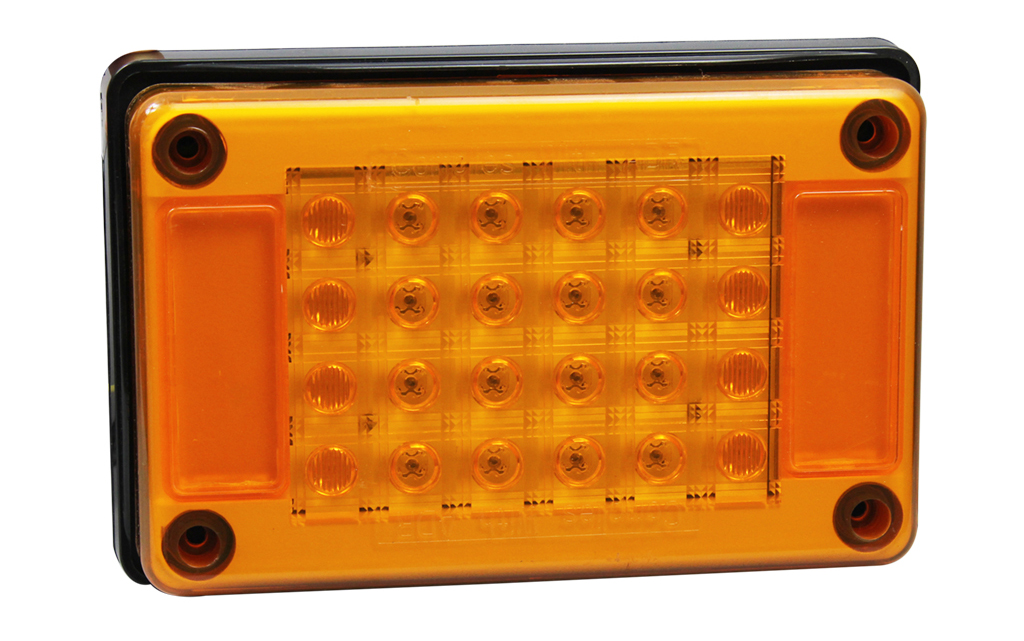 100% Waterproof Truck Rectangle Indicators Lights
