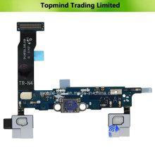 Cargador de carga USB puerto de cable flexible para la nota 4 sm-n910a de la galaxia de Samsung