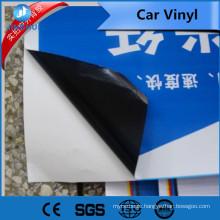 140g black glue pvc self adhesive vinyl for interior and exterior design commerical