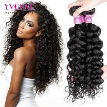 Italienisch lockiges unverarbeitetes brasilianisches reines Haar