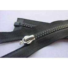 Bom legal estilo expostos zipper longo plástico para sacos