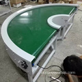 180 Degree Curve Belt Conveyor Turning Table