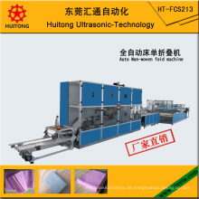 Automatische Bettlaken Non-Woven-Falzmaschine