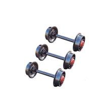 Juego de ruedas de 350 mm para el uso del auto de mina
