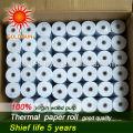 rolo de papel térmico