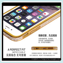 Роскошный бриллиантовый Чехол бампер Рамка для телефона для iphone6