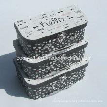 Дешевые картон бумажный чемодан / Оптовая бумага чемодан Упаковка подарков Box