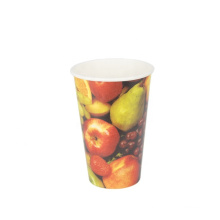 Customized print 8oz 12oz 16oz cold paper cups_disposable soda cold cups_glasses for cold drinks