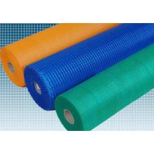 Maille de fibre de verre PE 80g de couleur bleue