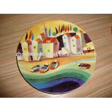 Estilo especial de jantar porcelana decorativo Placa placa de lembrança