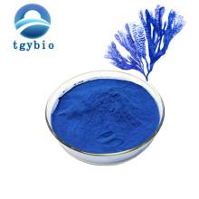 Ficocianina em pó de pigmento azul de ficocianina E18 de grau alimentício