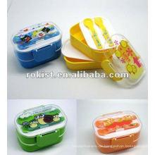 Doppelschicht Kunststoff Kinder Lunchbox