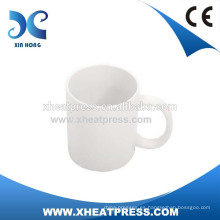 2016 Taza de cerámica blanca de la transferencia caliente 11oz de la sublimación de la venta