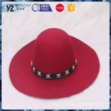 Factory sale long lasting women hat ready in stock for 2016