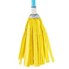 China Hersteller Ganze Reihe Gelbe Runde Streifen Nass Mop / Runde Moppkopf