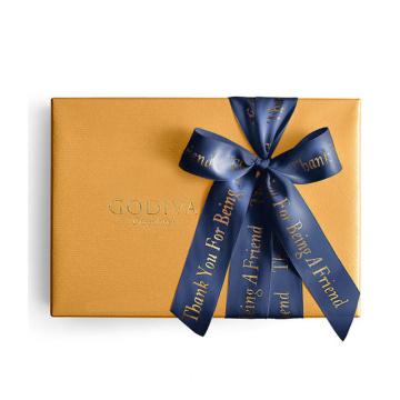 Custom Elegant Recyclable Luxury Christmas Chocolate Box