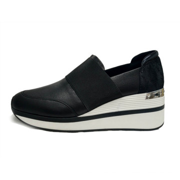 Leather Sports Casual Shoes With High Heels