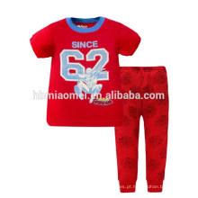 Crianças Novo Estilo Pijamas Camisas De Algodão E Calças Conjuntos Crianças Menino Pijama
