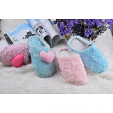 cheap custom 2016 indoor outdoor plush women man house slipper