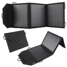 Portable High Coversion Sunpower Chargeur de panneau solaire pour les activités en plein air