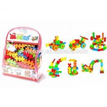 Ева строительные блоки 138pcs / Забавные игрушки пеноблоков / EVA пены строительные блоки
