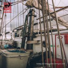 Línea de muelle de cuerda trenzada de nailon trenzado de 12 hilos de amarre de barco de venta caliente para cuerda de remolque marina