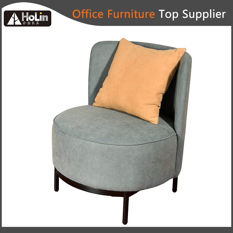 Modern Design Fabric Office Sofa Chair With Cushion