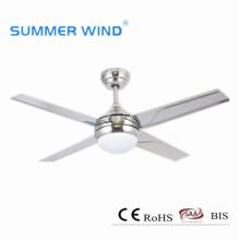 Светодиодный потолочный вентилятор с регулируемой яркостью для спальни