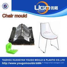 Usine de moules ménagers en plastique pour nouvelle conception PC chaise transparente en plastique moulé en taizhou Chine