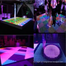 Diodo emissor de luz do Dance Floor de 8 * 8 pixéis Digitas