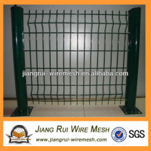 green pvc coated wire mesh fence(China manufacturer)
