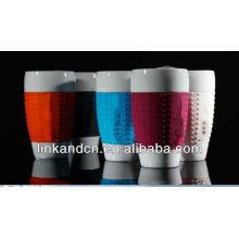 KC-00938 ceramic mug silicone sleeve