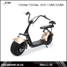 2000W Big Power City Coco E-Scooter with Double Seats Front Shock Absorber