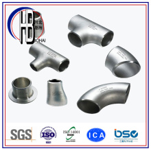 Butt Weld Stainless / Carbon Steel Tee Equal / Reducing ASTM com grande desconto