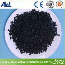decoloración y refinado de carbón activado a base de madera